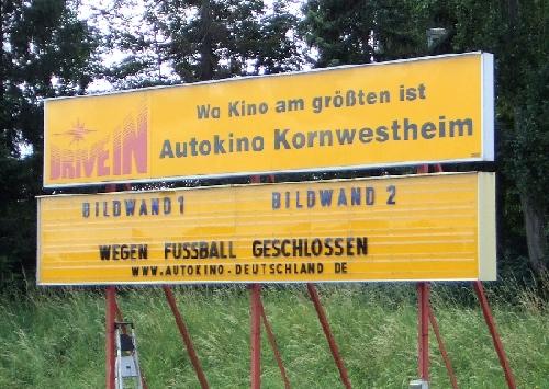 Autokino Kornwestheim am 29.06.2008 (Endspiel der Fußball-EM 2008)