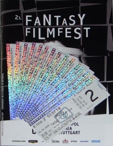 Fantasy Filmfest 2009 in Stuttgart - Programmheft und Karten