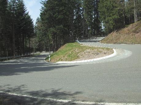 Serpentinen bei Bad Griesbach (Schwarzwald)