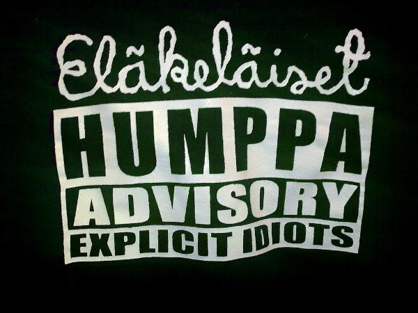 Eläkeläiset - Humppa Advisory - Explicit Idiots