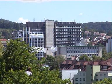 Sprengung der Leobau-Wüstenrot-Hochhäuser in Leonberg (30.05.2009) - Bild 1