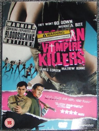 Lesbian Vampire Killers (UK DVD)